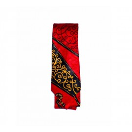 Blood-shot Slim Tie